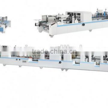 ZH-1450AC Automatic Cardboard Package Box Making Machine for Forming paper box for 4 6 corner box