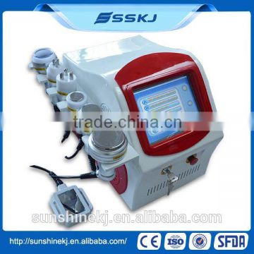 High Quality professional 5 in 1 fast Cavitation RF body slimming machine for sale