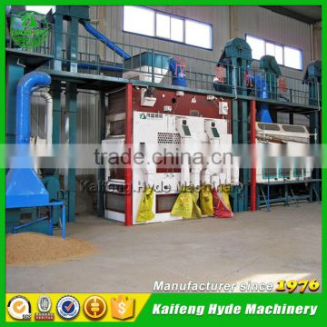 10T Turnkey automatic wheat seed cleaning line for sale