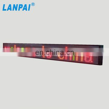 2017 hot sale high brightness indoor use programmable led sign