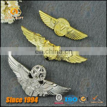 High Grade Air Force Souvenir Gift Zinc Alloy Metal Lapel Pin