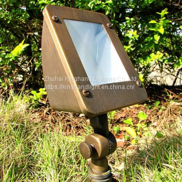 outdoor landscape flood up lights