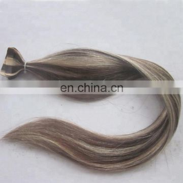 factory wholesale tape in piano hair extensions natural hair pre-bonded pieces