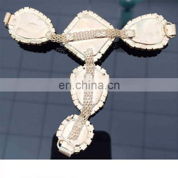 New Designs Chain Style Rhinestone Shoe Accessories footwear decoration
