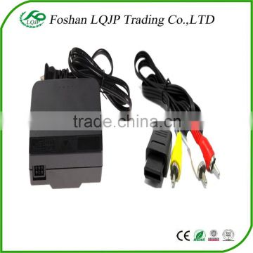 AC ADAPTER POWER SUPPLY & AV CABLE CORD FOR NINTENDO N64 BUNDLE (BRAND NEW) POWER SUPPLY ADAPTER