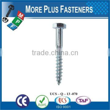 Made in Taiwan Drilling lag screw wood screw lag screw