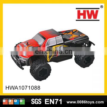 2.4g 1:24 2 channel big wheels rc car with fast speed