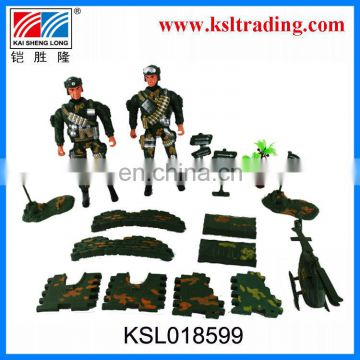 plastic military toy set for boys