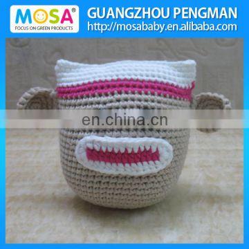 Amazon.com: Amigurumi Crochet Kit,Monkey Kit,Crochet Kit,DIY ... | 360x360