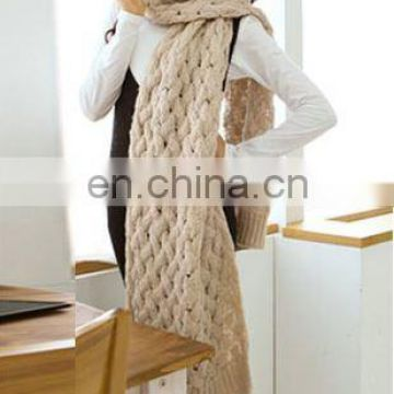 Exquisite Woven Scarf From Zhen Bang Factory