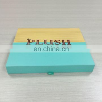 See here ! ! ! special Light blue apparel box with fabric inside 30% take off