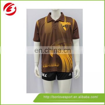 Digital Print With Any Logo Fashion Design Polo Shirt