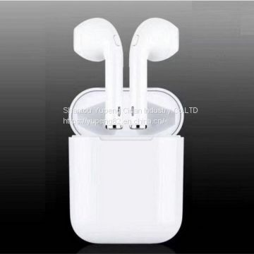 headset earphone Wireless Bluetooth Headphone Wireless Stereo Earphones Headphone 2018 Tws I9s with Charging Box Mini Sport Bt Earbuds