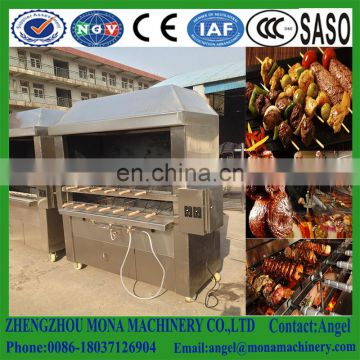 Gas barbecue grill/ brazilian rodizio machine/ electric barbecue for sale