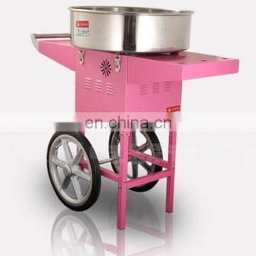 Automatic easy to operation Cotton Candy Floss Making Machine with adjustable temperature control