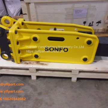 Box silence type 20 ton excavator breaker jack hammer specification price