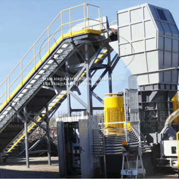 paint bucket shredder machine,thin iron steel crusher shredder machine
