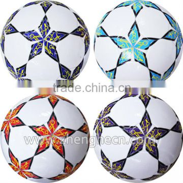 factory direct sale stocking a lot 2013 new design soccer ball,2013 football size 5 PVC/PU
