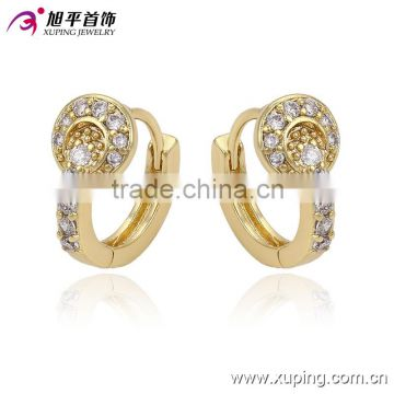 Small Baby S 14k Gold Plated Cz Mini Hoop Earrings The Whole Price Of