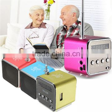 LED display panel high quality cheap price portable mini speaker with fm radio