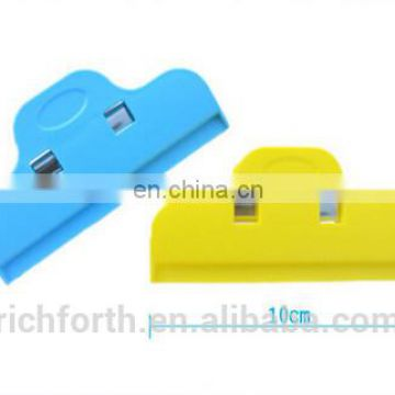 plastic bag clip with customized logo and various colour