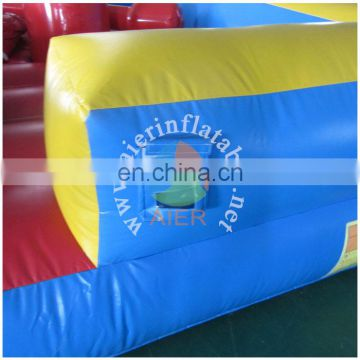 jousting area/inflatable race game