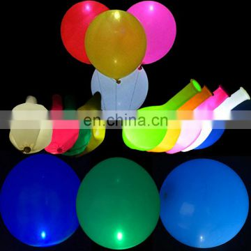 Good quality led balloon size 12 inch flashing led light balloon