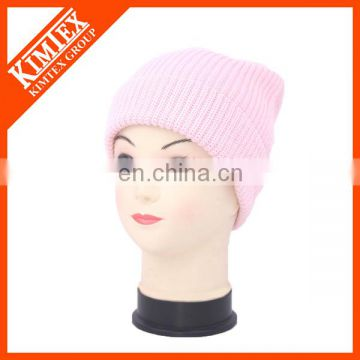 Wholesale Comfortable custom beanie hat, winter warm knitted hat