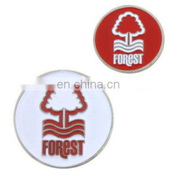 enamel metal custom golf ball markers