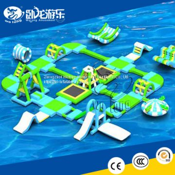 customized inflatable water park floating huge water park equipment for sale