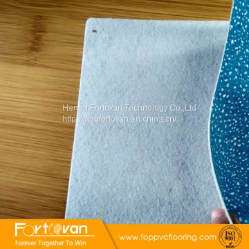 lowest linoluem flooring felt-back indoor pvc floor roll