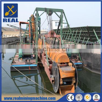 Factory direct bucket chain gold dredger gold mining machine for sale