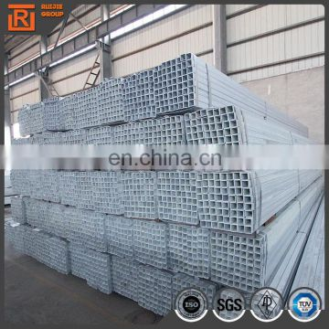 40g pre galvanized tubing 20x40 galvanized rectangular steel pipe hollow section square pipe