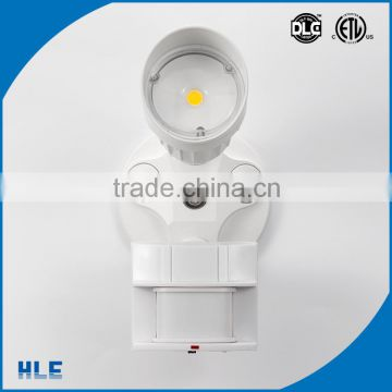 American most popular cheapest three-dimensional rotation head and body outdoor led security light