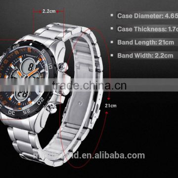 Chinese Product!!MIDDLELAND Luxury Mens skeleton Watches Chinese Mechanical watches gold wristwatch Stainless Steel