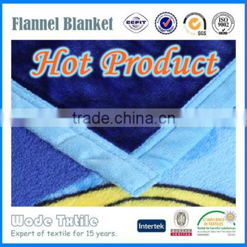 Soft Material Printed Polar Fleece Blanket/Flannel Fleece Blanket/Coral Fleece Borrego Blankets