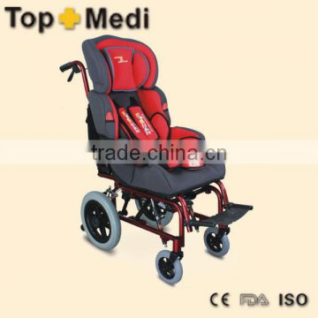 Rehabilitation Therapy Supplies Children's CP Wheelchair TRW258LBYGP
