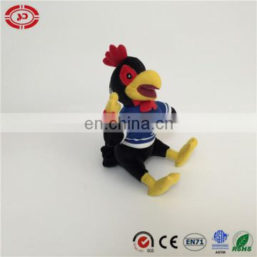 New design custom Rooster with t-shit sitting quality standard exquisite Keychain