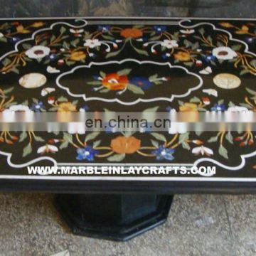 Beautiful Inlay Pietra Dura Table Tops, Stone Inlay Dining Table Tops
