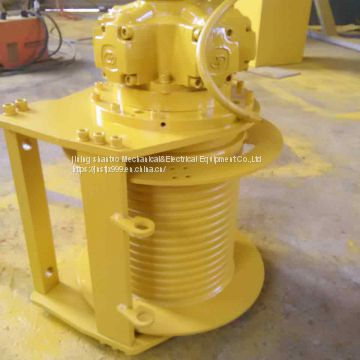 5 ton hydraulic winch for drilling wells