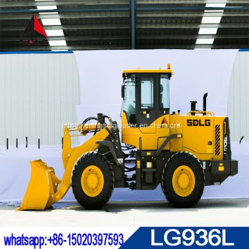 Hot sale SDLG LG936L wheel loader with WP6G125EE engine,low price