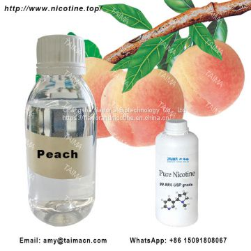 High Concentrated Fruit Flavor: Peach Flavor Used For E-Juice
