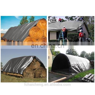 12ft x 24 ft UV Protection Waterproof PE Tarp Cover for Car Boat Trailer Garden Funiture Haystack Machine Lumber Pool