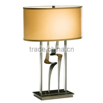Vintage black shade brass table lamp for living room                                                                         Quality Choice