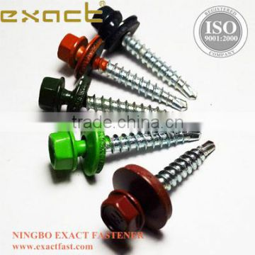 All kinds of self drilling screw C1022 steel galvanized hex head self drilling roofing screw
