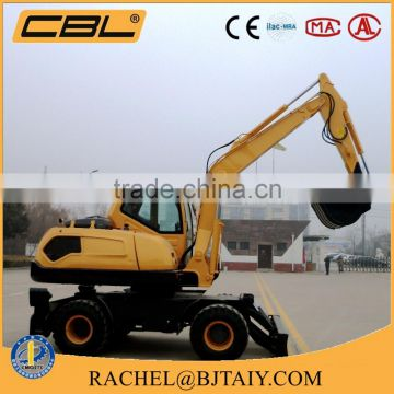 New type WYL135 Hydraulic wheel excavator