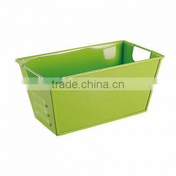 Rectangle file holder,magazine holder,office stationery holder storage bin toy box