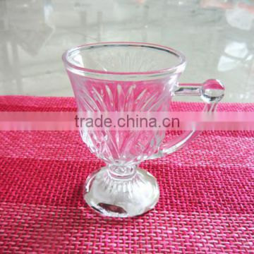 glass cup for drinking