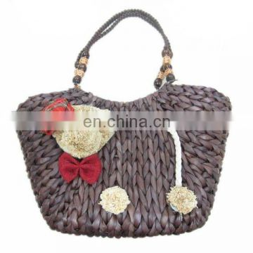 2012 fashion lady straw cute bag