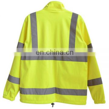 Warning jackets high reflector safety jacket with pockets